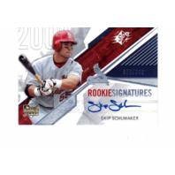 Skip Schumaker 2006 UD Upper Deck SPx Rookie Autograph #144 auto RC 878/999