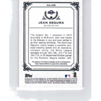 Jean Segura 2013 Topps Museum Collection Autograph #AAJSE auto