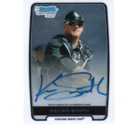 Kevan Smith 2012 1st Bowman Chrome Prospect Autographs #BCAKS auto White Sox