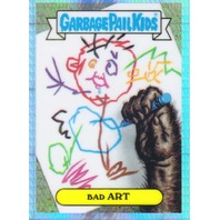 2013 GPK Garbage Pail Kids Chrome Series One Prism Refractor #L11b Bad Art