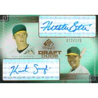 2004 SP Prospects Draft Duos Dual Autographs #SS Huston Street/Kurt Suzuki