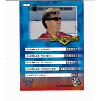 JOHN ANDRETTI 1998 Press Pass VIP Explosive #1 Autograph Auto On Card