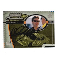 JOHN ANDRETTI 1999 Upper Deck Road to the Cup NASCAR Chronicles #NC15 Auto (a)
