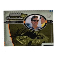 JOHN ANDRETTI 1999 Upper Deck Road to the Cup NASCAR Chronicles #NC15 Auto (b)