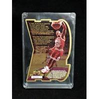 1997 Upper Deck Michael Jordan 9X Scoring Champion Ltd Edition Die Cut 3530/5000