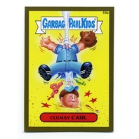 2015 Garbage Pail Kids Series One Gold #56b Clumsy Carl PR85