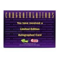 1993 Deathwatch 2000 Jaguarundi #NNO Neal Adams Autographed Auto /7500