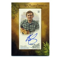 2019 Topps Allen and Ginter Framed Mini Autographs #MABF Brian Fallon