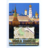 2018 Upper Deck Goodwin Champions World Traveler Maps #WT91 Kremlin Moscow