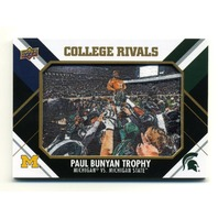 2015 Upper Deck College Tribute Patches #CM222 Paul Bunyan Trophy