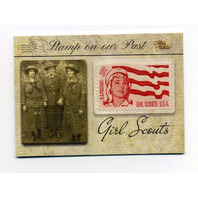2018 The Bar Pieces Of The Past Antiquity Edition Stamp On Our Past Girl Scouts