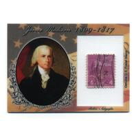 2018 Historic Autographs P.O.T.U.S. Stamps #STJME James Madison 49/90
