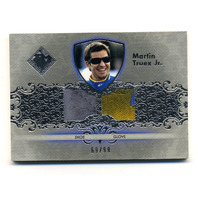 2012 Total Memorabilia Dual Swatch Silver #TMMT Martin Truex Jr. /99