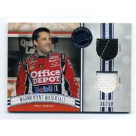2012 Press Pass Fanfare Magnificent Materials Dual Swatches #MMTS Tony Stewart