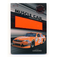 2012 Press Pass Redline Muscle Car Sheet Metal Red #MCJL Joey Logano /75