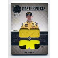 2013 Press Pass Showcase Masterpieces Memorabilia #MPMK Matt Kenseth /75