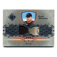 2012 Total Memorabilia Dual Swatch Silver #TMRN Ryan Newman /99