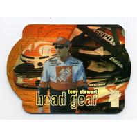 2000 Press Pass VIP Head Gear Explosives Laser Die Cuts #HG3 Tony Stewart
