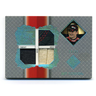 2013 Total Memorabilia Triple Swatch Holofoil #TMJG Jeff Gordon /99