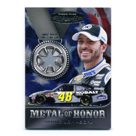 2011 Press Pass Stealth Metal of Honor Silver Star Jimmie Johnson /99