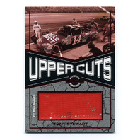 2010 Wheels Main Event Upper Cuts Red #UCTS Tony Stewart/Pit Wall Banner /25