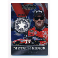 2011 Press Pass Stealth Metal of Honor Silver Star Tony Stewart /99