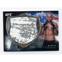 2014 Topps UFC Bloodlines Fighter Jumbo Relics #BJFRBP BJ Penn /110