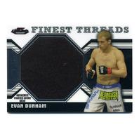 2011 Finest UFC Finest Threads Jumbo Fighter Relics #JRED Evan Dunham