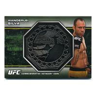 2013 Topps UFC Bloodlines Octagon Coins #OCWS Wanderlei Silva /108