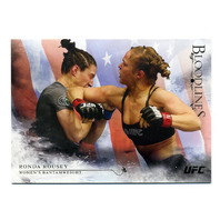 2014 Topps UFC Bloodlines Flag Parallel #131 Ronda Rousey /148