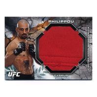 2013 Topps UFC Bloodlines Jumbo Fighter Relics #BJRCP Costas Philippou /88