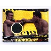 2010 Topps UFC Fight Mat Relics Gold #FMPT Paulo Thiago/UFC 106 /188