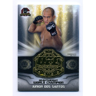 2014 Topps UFC Champions Manufactured Single Belt Plate #CB6 Junior Dos Santos