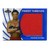 2012 UFC Finest Threads Jumbo Fighter Relics X-Fractors #JFTYA Yoshihiro Akiyama