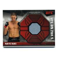 2013 Topps UFC Knockout Fight Mat Relics #FMRND Nate Diaz /188