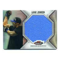 2012 Finest UFC Jumbo Fight Mat Relics #FFJMLJ Lavar Johnson