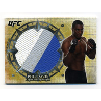 2013 Topps UFC Bloodlines Jumbo Fight Mat Relics #JFMRPD Phil Davis /108