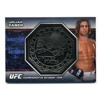 2013 Topps UFC Bloodlines Octagon Coins #OCUF Urijah Faber /108