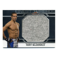 2013 Finest UFC Finest Threads Jumbo Fighter Relics #JFTRM Rory MacDonald Gray