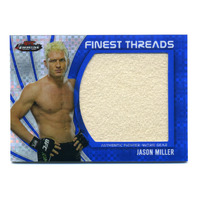 2012 Finest UFC Finest Threads Jumbo Fighter Relic X-Fractor #JFTJM Jason Miller