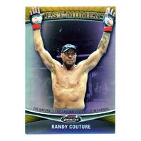 2012 Finest UFC Finest Moments Refractors Gold #FMRC Randy Couture /88