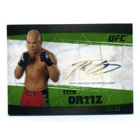 2010 Topps UFC Knockout Autographs Green #ATO Tito Ortiz /88