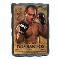 2014 Topps UFC Bloodlines Engraved Engots Manufactured Relics Junior Dos Santos