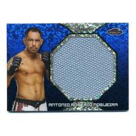 2013 UFC Jumbo Fight Mat Relics Refractors Blue #FFMAN Antonio Rogerio Nogueira