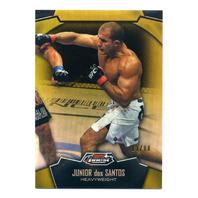 2012 Finest UFC Refractors Gold #23 Junior dos Santos /88
