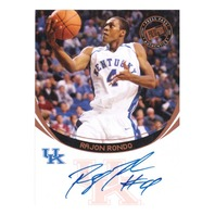 2006 Rajon Rondo Press Pass Authentics Autograph
