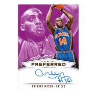 2014 Anthony Mason Panini Preferred Autograph /25