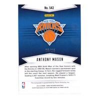 2014 Anthony Mason Panini Preferred Autograph /25