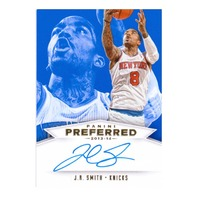 2014 JR Smith Panini Preferred Autograph /20