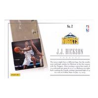 2014 J.J. Hickson Panini Signatures Game Still Insert